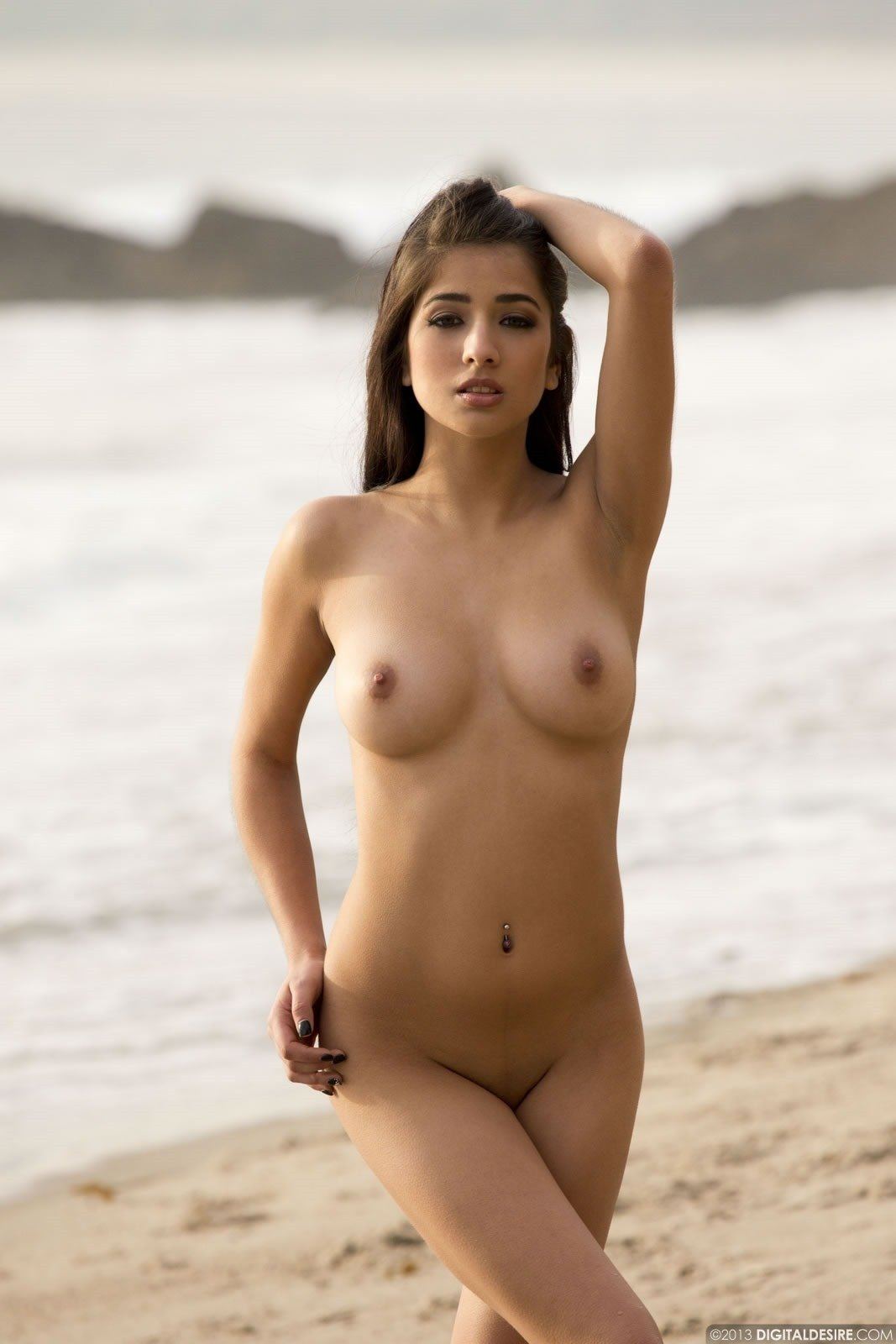 latina girls naked ass on beach