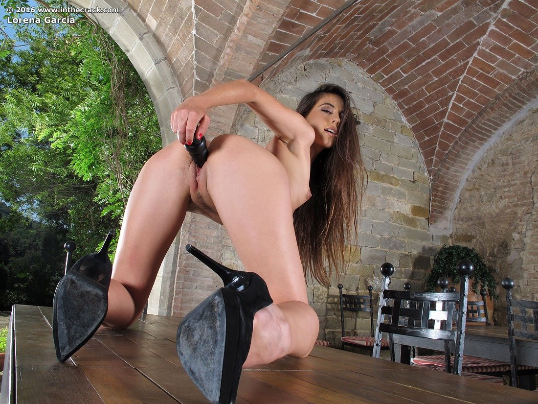 Brunette hottie from brazil takes it in the ass 2