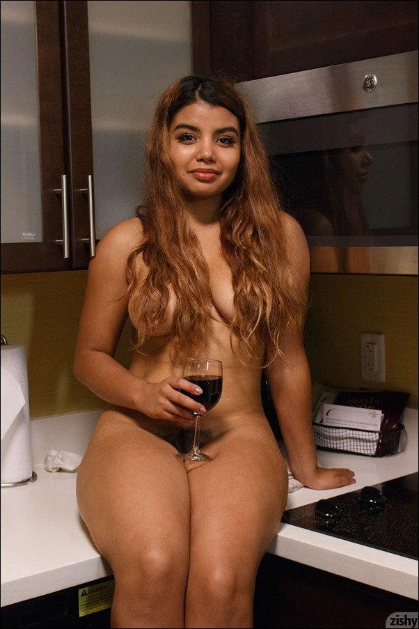 image Hairy super cute latina butt and cunt to be fucked by big